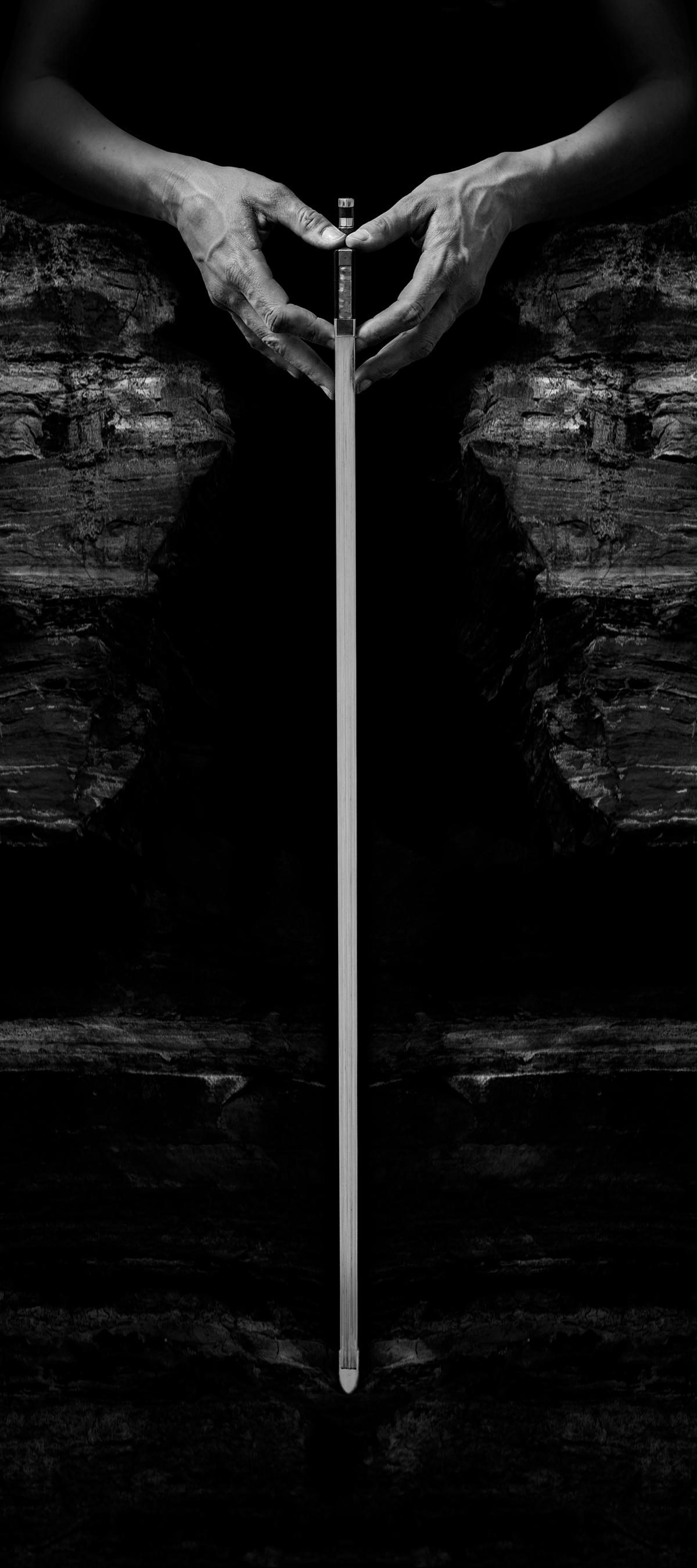 Unframed Caldera Poster by Simon Kallas 16 x 36 inches