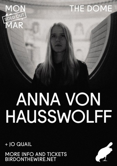 Review of The Dome supporting Anna von Hausswolff