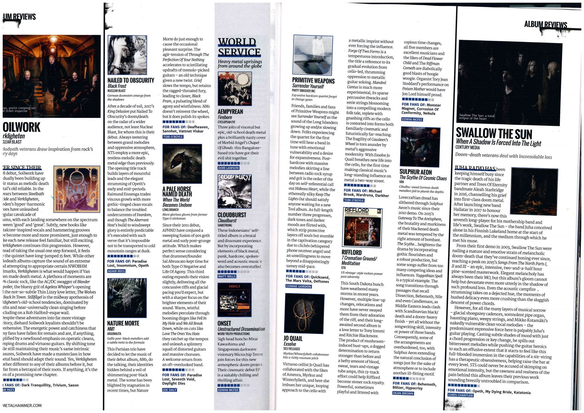 Metal Hammer 8/10 for Exsolve!