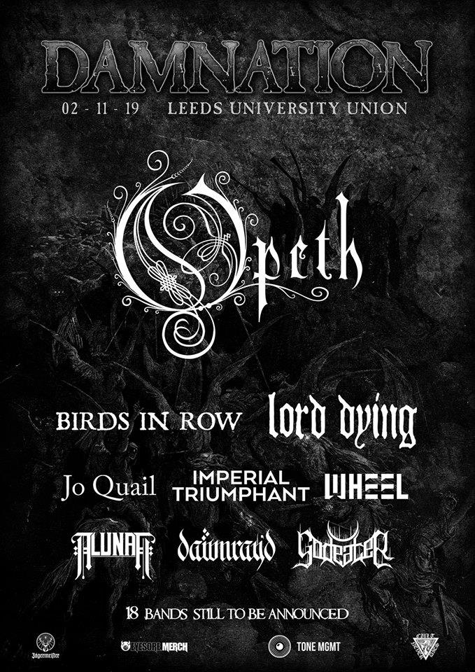 Damnation Festival 2019, Leeds UK