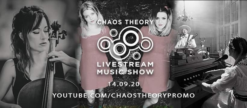 Acoustic Streaming Concert and live chat! I'm thrilled to be part of CHAOS THEORY 's next music and chat streaming show on Monday 14th September, at 8pm UK time, along with Coma Wall and Arabrot. I'm playing some Bach, some of my music and a premiere by Venom Prison so please join us!